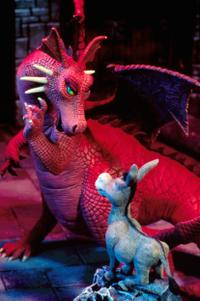 Dragon and Donkey in Shrek