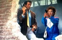 Sylvester Stallone and Estelle Getty in Stop!  Or My Mom Will Shoot