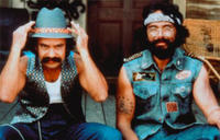Cheech Marin and Tommy Chong in