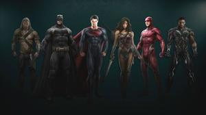 New 'Justice League' Concept Art Reveals Entire Team in Costume