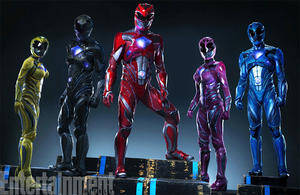 Get Your First Look at the New, Armored 'Power Rangers' Suits